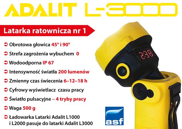 Latarka Adalit L-3000